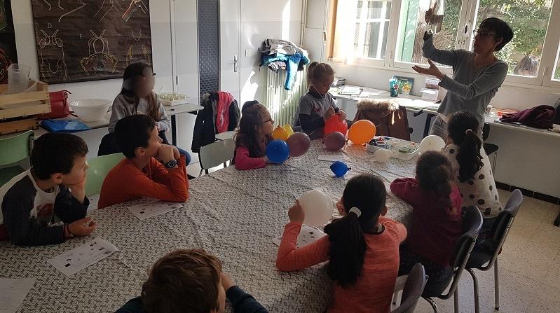 Atelier scientifique pour enfants